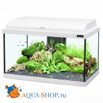 Аквариум AQUATLANTIS AQUADREAM 60, LED, белый, 60x30x40 см, 54л